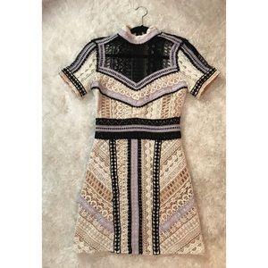 Nasty Gal Crochet Lace Dress